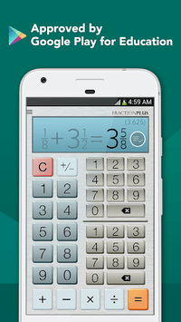 Fraction Calculator Plus Free APK screenshot 1
