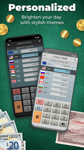 Currency Converter Plus Free with AccuRate™ APK screenshot 1