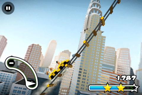 3D Rollercoaster Rush NewYork APK screenshot 1