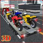 Bike Transport Truck 3D icon