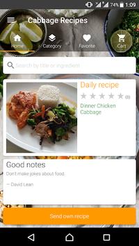 Cabbage Recipes APK screenshot 1