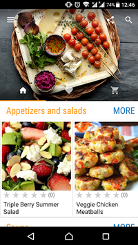 Dinner Recipes APK screenshot 1