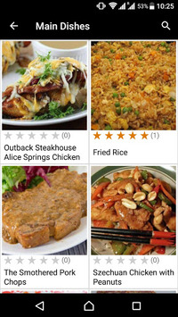 Stir Fry Recipes APK screenshot 1