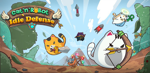 Cat'n'Robot: Idle Defense - Cute Castle TD Game pc screenshot