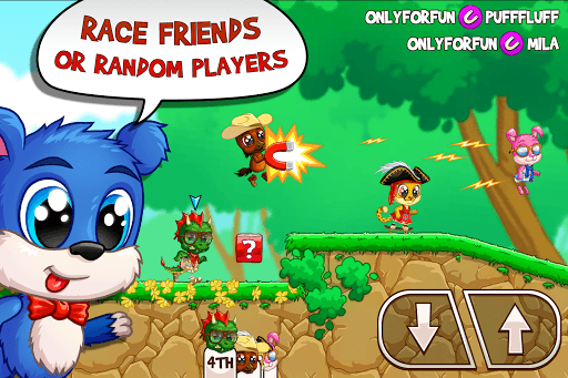 Fun Run 3 - Multiplayer Games APK screenshot 1