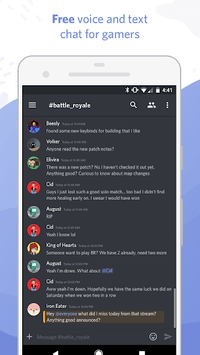 Discord - Chat for Gamers APK screenshot 1