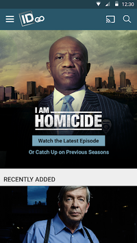 Investigation Discovery GO APK screenshot 1