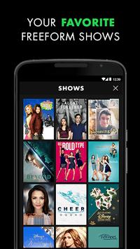 Freeform – Stream Full Episodes, Movies, & Live TV APK screenshot 1