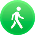 Pedometer, Step counter & Calorie counter icon