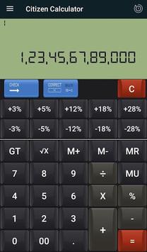 CITIZEN & GST CALCULATOR APK screenshot 1
