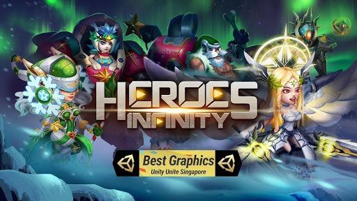 Heroes Infinity: Blade & Knight Online Offline RPG APK screenshot 1