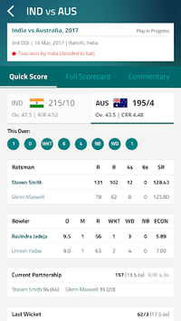 CricketNext – Live Score & News APK screenshot 1