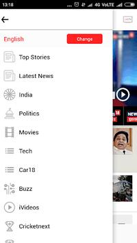 News18 APK screenshot 1
