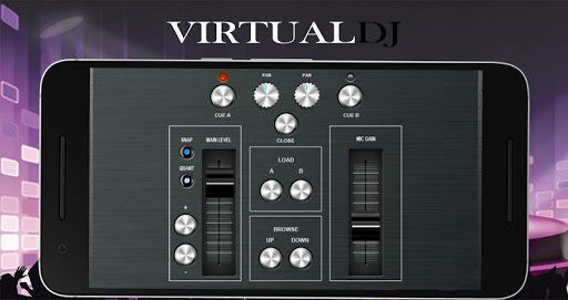 Virtual DJ Mixer 8🎛 Djing Song Mixer & Controller APK screenshot 1