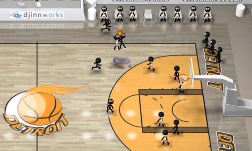 Stickman Basketball APK screenshot 1