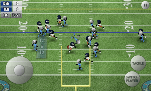 Stickman Football APK screenshot 1