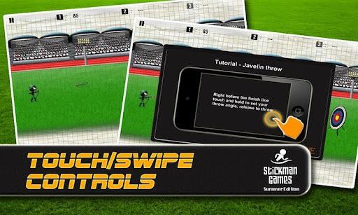 Stickman Games : Summer (Free) APK screenshot 1