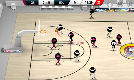 Stickman Basketball 2017 APK screenshot 1