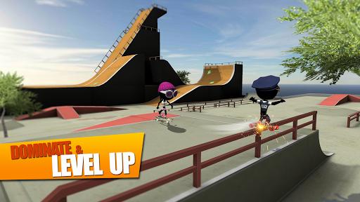 Stickman Skate Battle APK screenshot 1
