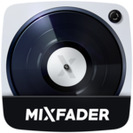 Mixfader dj - digital vinyl icon