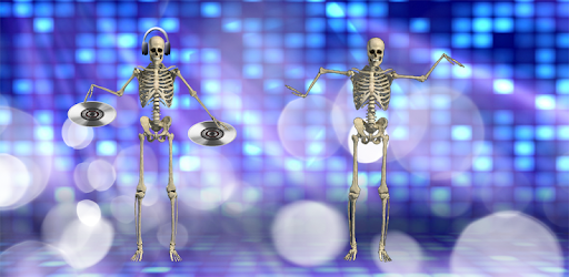 DJ Music for dancing skeleton pc screenshot