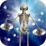 DJ Music for dancing skeleton apk icon