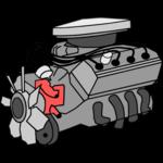 Car insides icon