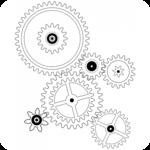Engine technology icon