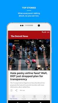 The Detroit News APK screenshot 1
