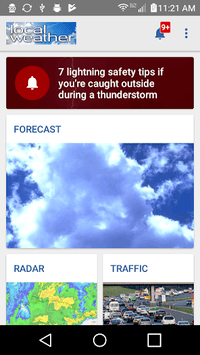 Local Weather Radar & Forecast pc screenshot 1