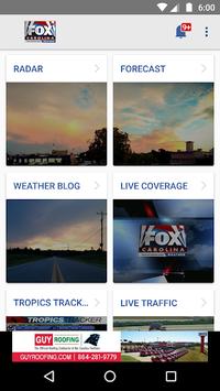 FOX Carolina Weather APK screenshot 1