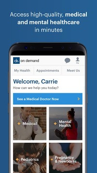 Doctor On Demand APK screenshot 1