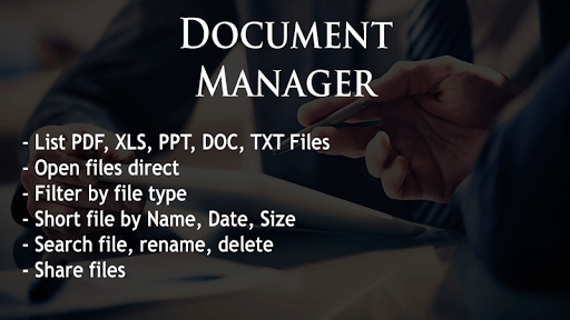 Document Manager APK screenshot 1