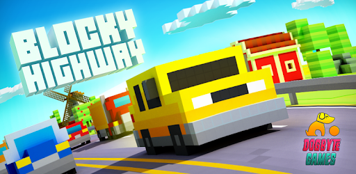 Blocky Highway: Traffic Racing pc screenshot
