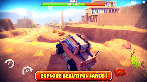 Zombie Offroad Safari APK screenshot 1