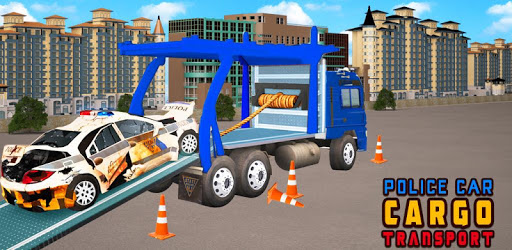 US Police Car Transport:Cargo Truck Games pc screenshot