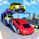 US Police Car Transport:Cargo Truck Games icon