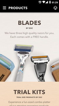 Dollar Shave Club APK screenshot 1