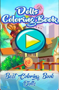 Coloring Book Surprise Dolls, LoL APK screenshot 1