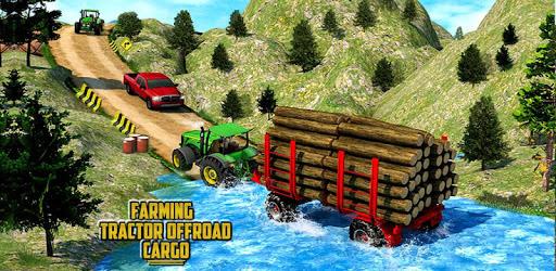 Drive Tractor Offroad Cargo- Farming Games pc screenshot