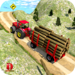 Drive Tractor Offroad Cargo- Farming Games icon