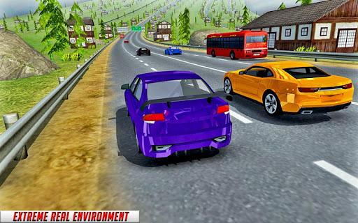 Modern Car top drift Traffic Race- free games APK screenshot 1