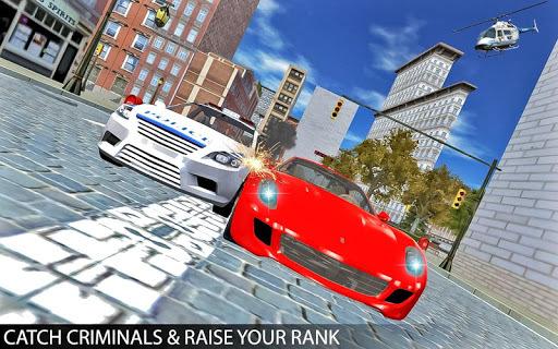 Drive Police Car Gangsters Chase Crime APK screenshot 1