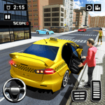 Modern Taxi Drive Parking 3D Game: Taxi Games 2021 icon