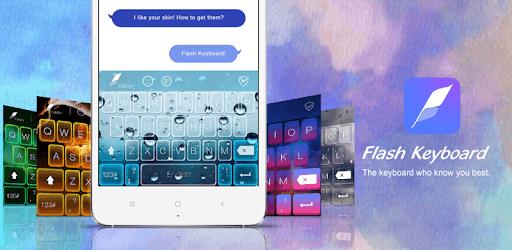 Flash Keyboard - Emoji & Theme pc screenshot