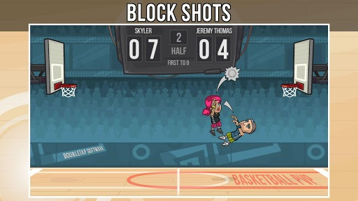 Basketball PVP APK screenshot 1