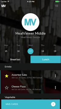 MealViewer To Go APK screenshot 1