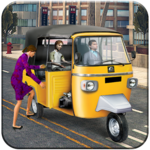 Rickshaw driving games 3d: rickshaw simulator 2018 icon