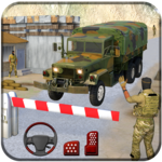indian army truck driving: military truck mission icon