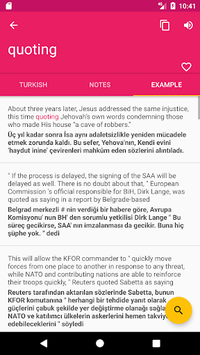 Turkish English Offline Dictionary & Translator APK screenshot 1